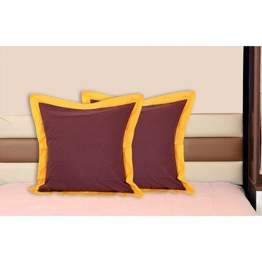 Set of 2 Dekor World Cotton Big Cushion Cover-DWCC-24-081