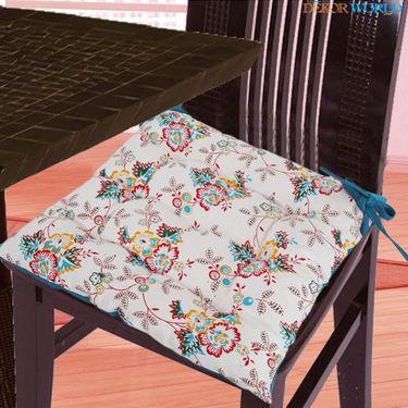 Dekor World Cotton Printed Chair Pad-DWCP-034
