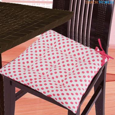 Dekor World Cotton Printed Chair Pad-DWCP-036