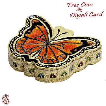 Beautiful Butterfly Shaped Multiutility Box