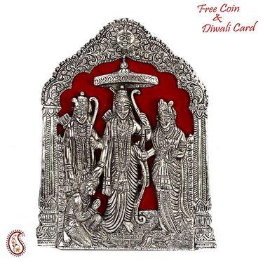 Skillfully carved wooden Ganesh