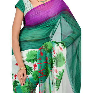 Dazzling Collection of 7 Georgette Sarees (7G17)