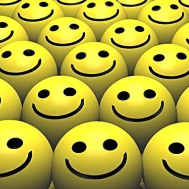 Delhi Haat Set of 12 Smiley Face Squeeze Ball for Your Children