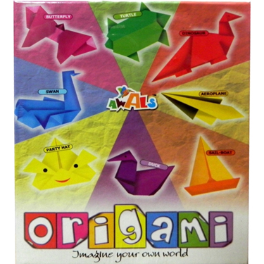 Awals New Origami Kit- DIY Activity Kit for Kids