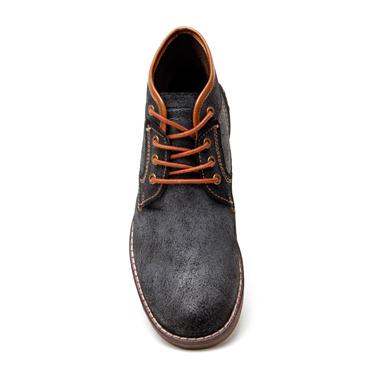 Delize Leather Boots - Black-3093