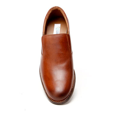 Delize Leather Formal Shoes - Brown-4318