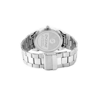 Dezine Wrist Watch For Men - White_DZ-GR021-WHT-CH