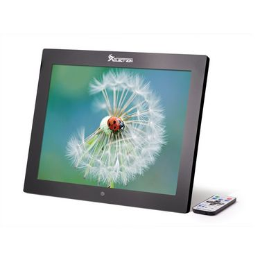 XElectron 1500PS 15 inch Digital Photo Frame with Remote - Black