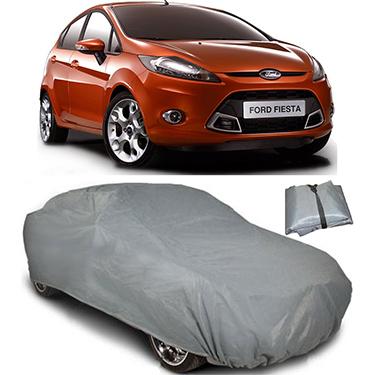 Digitru Car Body Cover for Ford Fiesta - Dark Grey