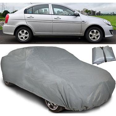 Digitru Car Body Cover for Hyundai Verna - Dark Grey