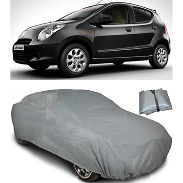 Digitru Car Body Cover for Maruti Suzuki A Star - Dark Grey