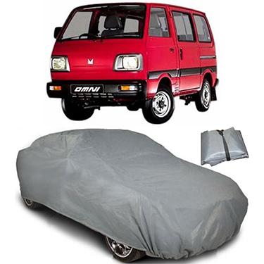 Digitru Car Body Cover for Maruti Suzuki Omni - Dark Grey