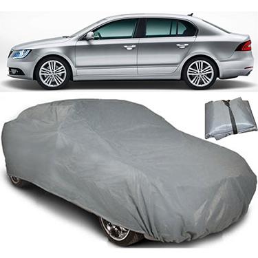 Digitru Car Body Cover for Skoda Superb - Dark Grey