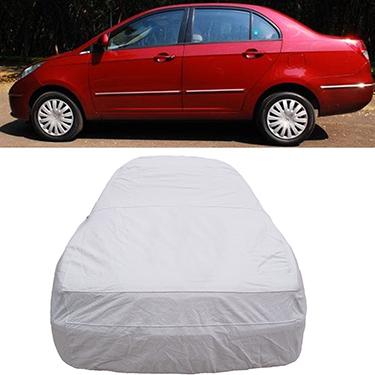 Digitru Car Body Cover for Tata Manza - Silver
