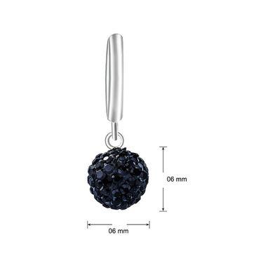 Mahi Rhodium Plated Artificial Earrings_Er1104028rbla