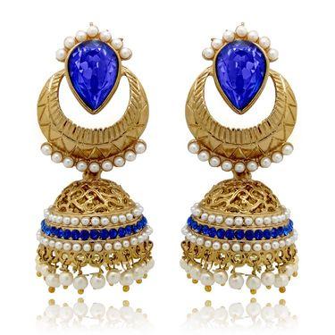 Branded Gold Plated Artificial Earrings_Er30016g