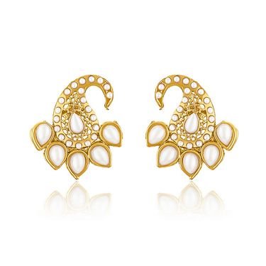 Branded Gold Plated Artificial Earrings_Er30052g