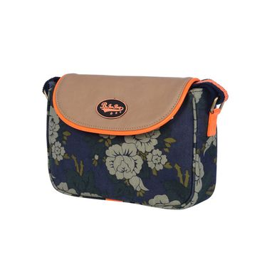 Be For Bag Canvas Cycling Clutch Blue -Emilee