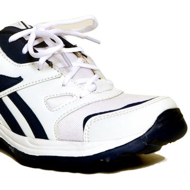 Stylox Faux Leather Sports Shoes Fa-Sty-Sh-8003 -White