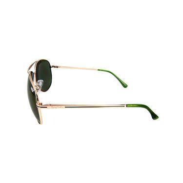 Flying Machine Aviator Sunglasses_fms104201 - Green