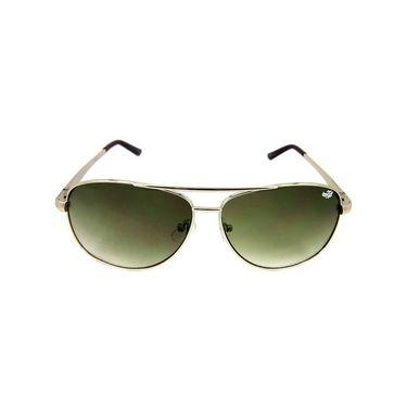 Flying Machine Aviator Sunglasses_fms105201 - Green