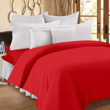 Storyathome 100% Cotton Double Bedsheet With 2 Pillow Cover-FS1202