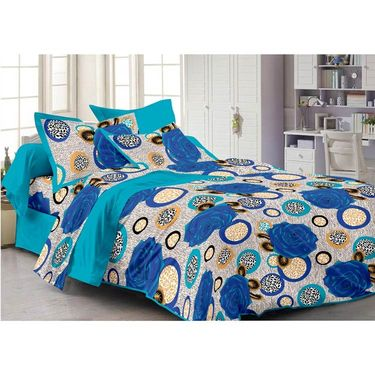 Set Of 2 Single Bedsheet With 2 Pillow Cover -1105-FY1106