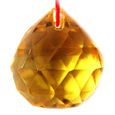 Fengshui Crystal Ball 40 mm - Yellow