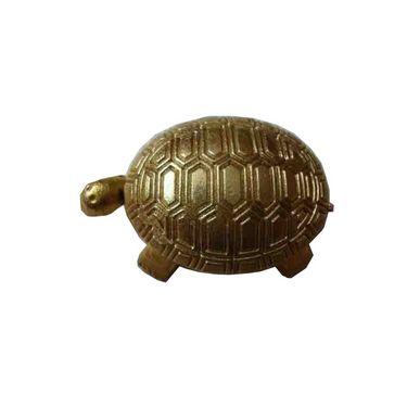 Fengshui Wish Fulfilling Tortoise - Golden