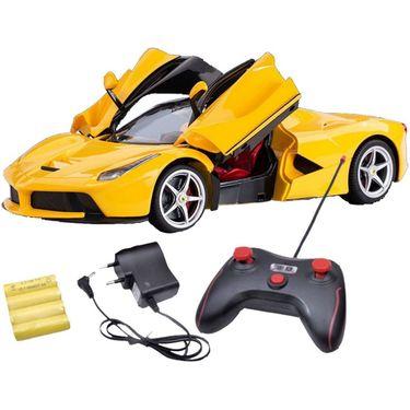 Full Function RC Racing Ferrari Car Toy-Yellow