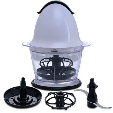 Smart Kitchen Solution - Griller + Food Chopper + Slicer with 6 Blades