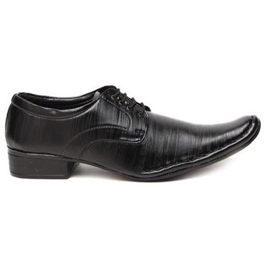 Foot n Style Smart Derby Shoes - Black