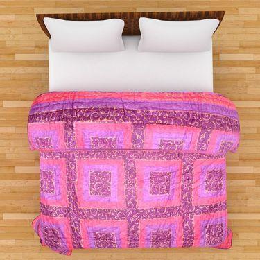 GRJ India Designer Printed Single AC Bed Quilt-GRJ-SQ-151