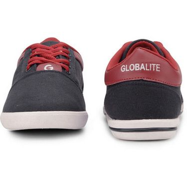 Globalite Canvas Casual Shoes GSC0481 -Navy Red