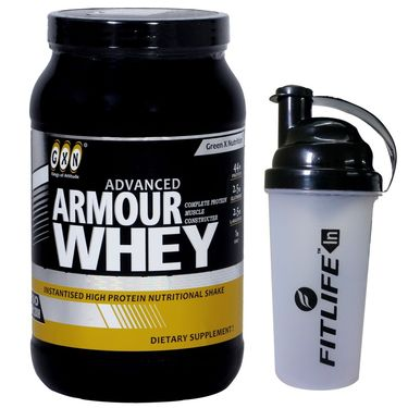 GXN Advance Armour Whey 2 Lb (907grms) Vanilla Flavor + Free Protein Shaker