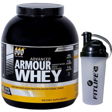 GXN Advance Armour Whey 7 Lb (3.17kgs) Butterscotch Flavor  + Free Protein Shaker