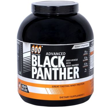 GXN Advance Black Panther 5 Lb (2.26kgs) Strawberry Flavor