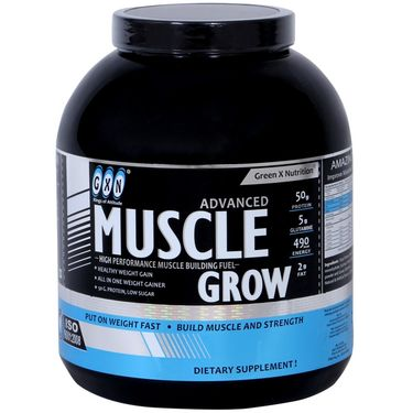 GXN Advance Muscle Grow 6 Lb (2.27kgs) Banana Flavor
