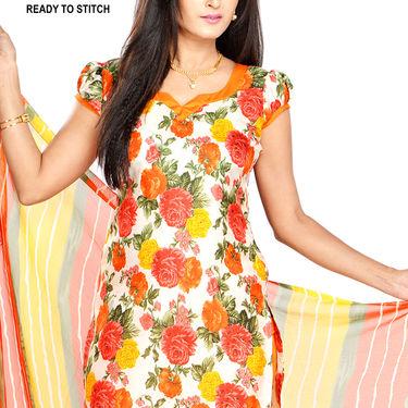 Geetika Pack of 3 Art Silk Dress Material