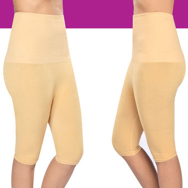 Get In Shape Tummy & Thigh Shaper for Women - Pack of 2