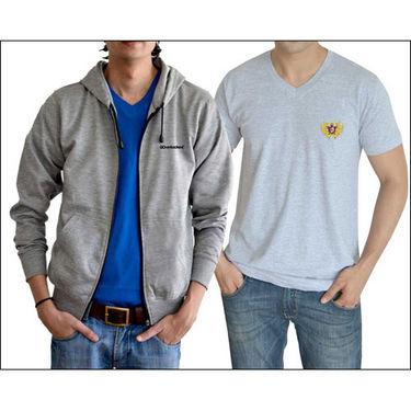 Buy combo of go untucked t shirt sweatshirt for men for Best untucked shirts for men