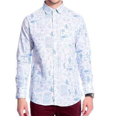 Pack of 3 Good Karma Cotton Premium Designer Shirts_Gkc002 - Mulitcolor