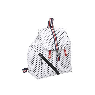 Be For Bag Canvas Backpack White -Helma