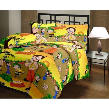 eCraftIndia Designer Printed Kids Single Bed Reversible AC Blanket-HFBD107