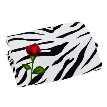eCraftIndia Designer Printed Single Bed Reversible AC Blanket-HFBD110