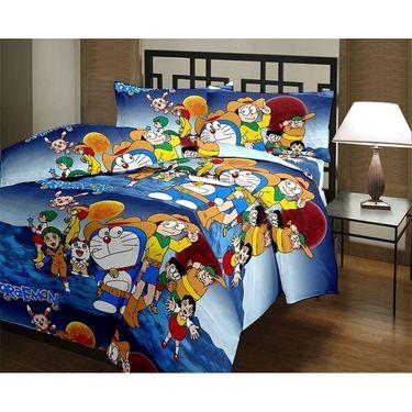 eCraftIndia Designer Printed Kids Single Bed Reversible AC Blanket-HFBD117