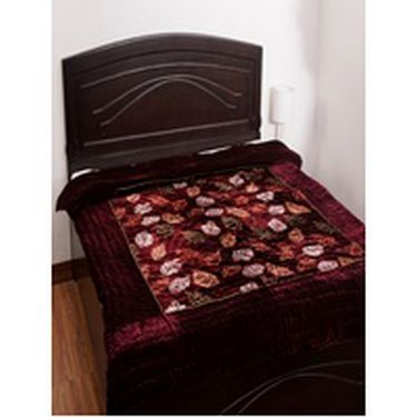 eCraftIndia Designer Printed Single Bed Jaipuri Cotton Quilt-HFSJQ116