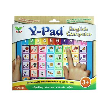 Kids Musical Learning Touch Pad - Multicolor