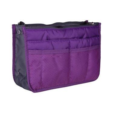 Branded Nylon Travel Organizer Ho_Purple