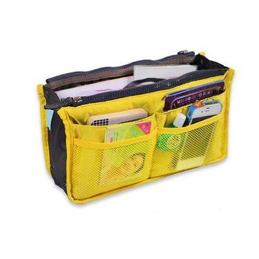 Branded Nylon Travel Organizer Ho_Yellow